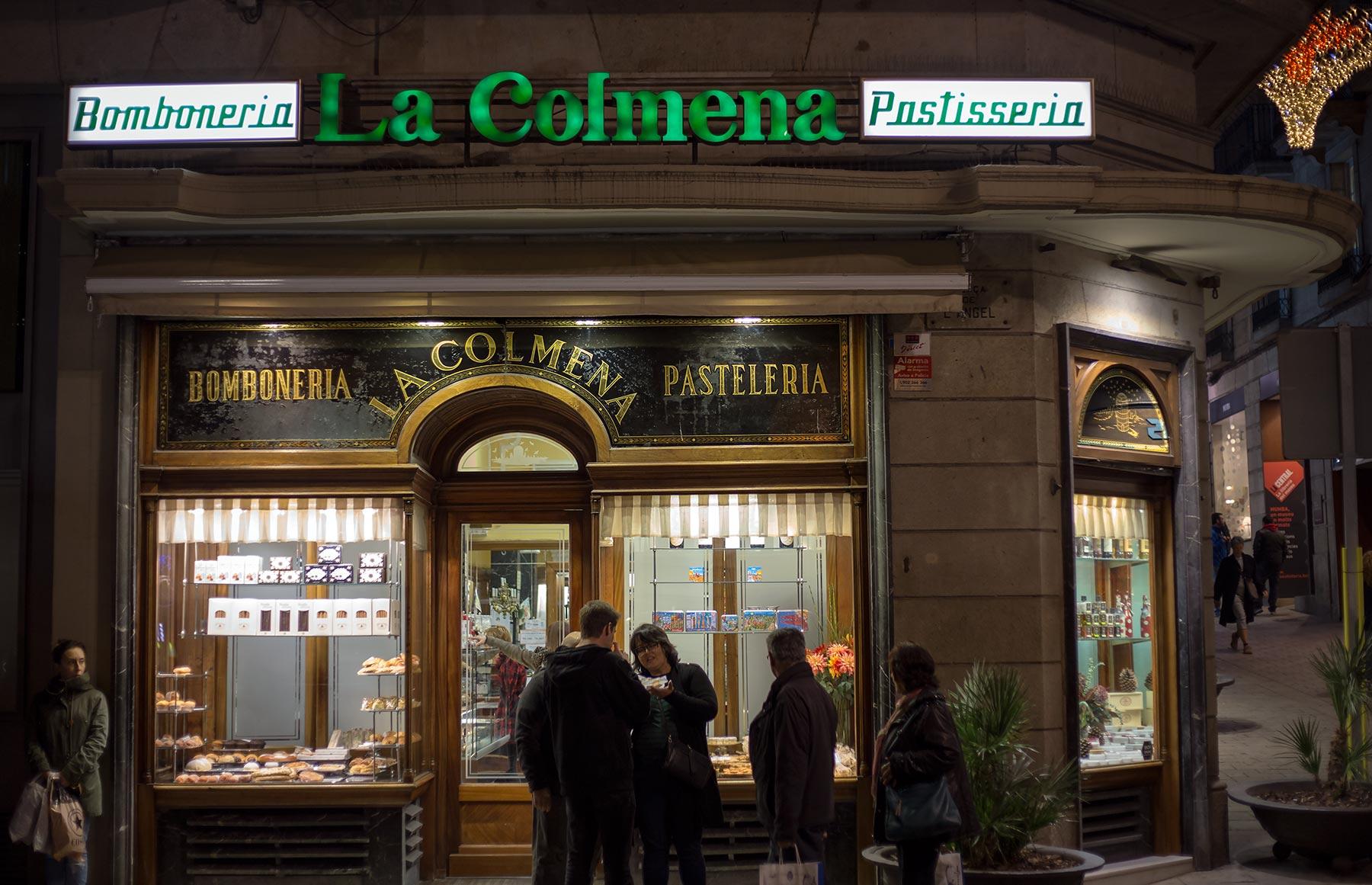 La Colmena on vanhan ajan leivospuoti Gòticissa. © tripsteri.fi / Tuulia Kolehmainen