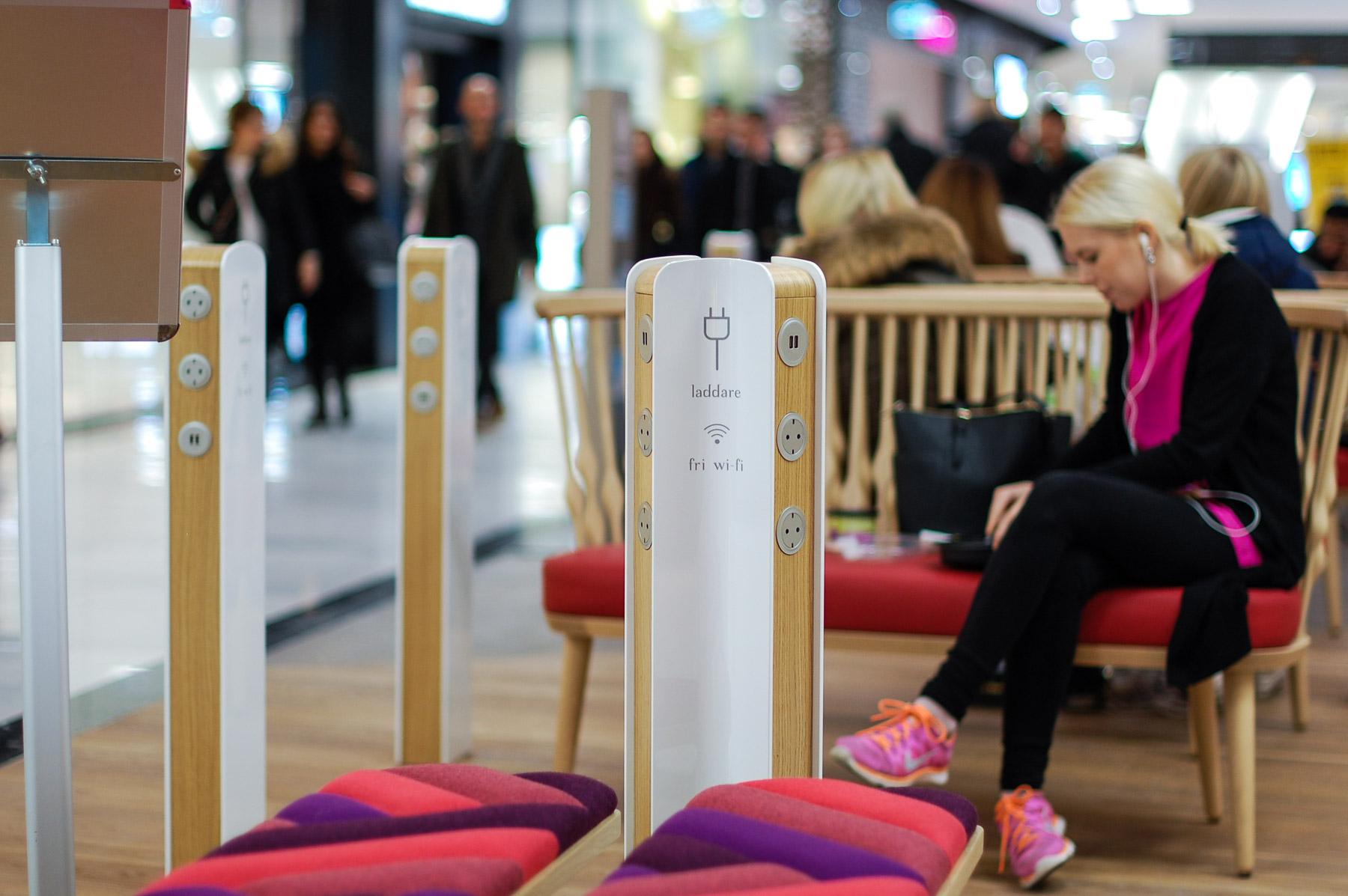 Lataamo Mall of Scandinaviassa Tukholmassa. kuva: ©Soile Vauhkonen