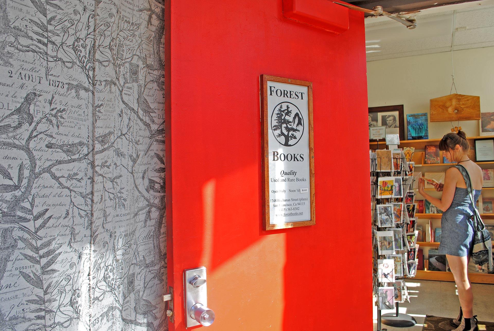 Forest Books -kirjakauppa San Franciscon Japantownissa. Kuva: Reetta Kemppi
