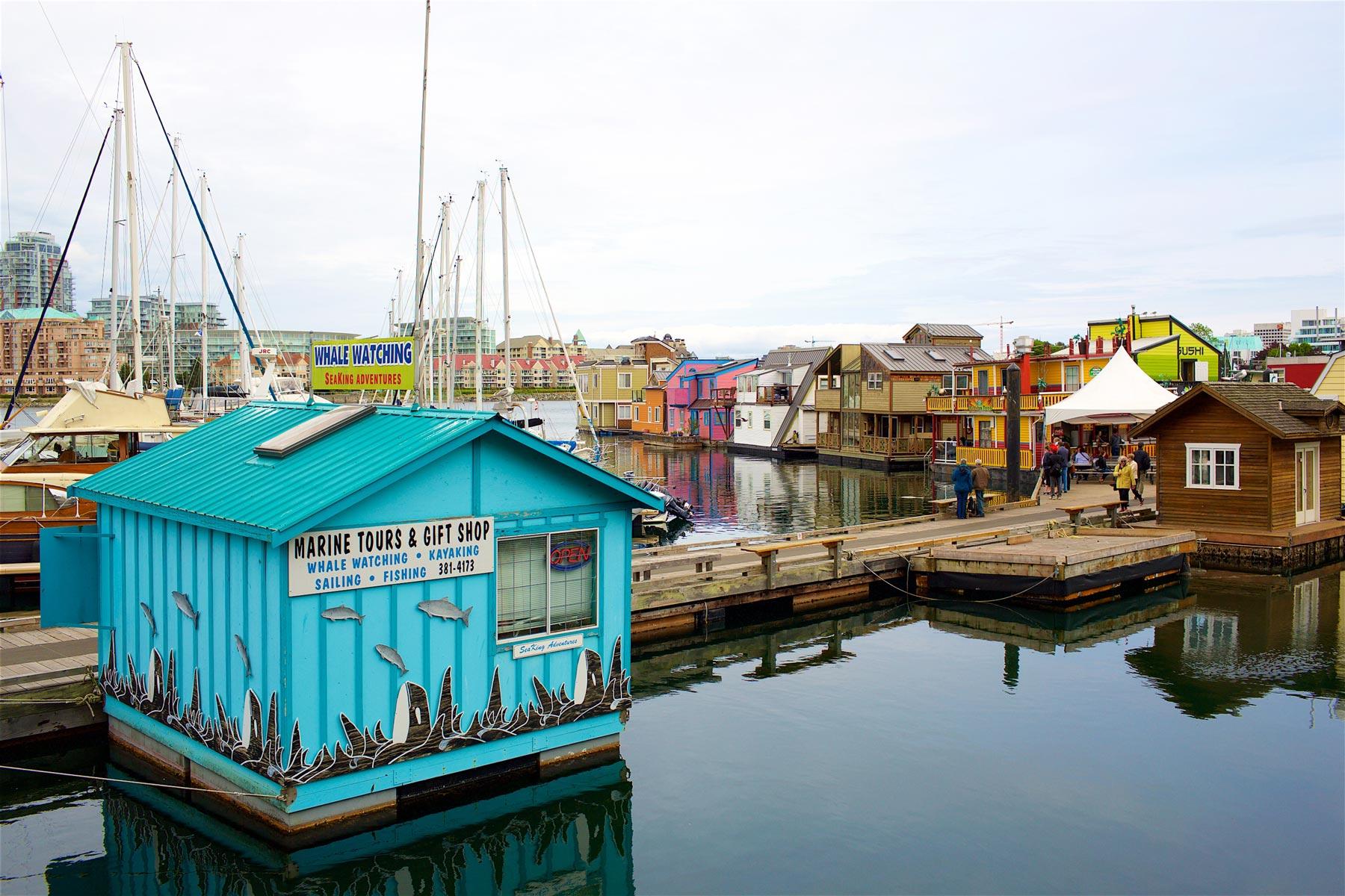 Fisherman's Wharf on söpö pieni turistialue, joka soveltuu hyvin lapsiperheille. (c) Alex Kampion/tripsteri.fi