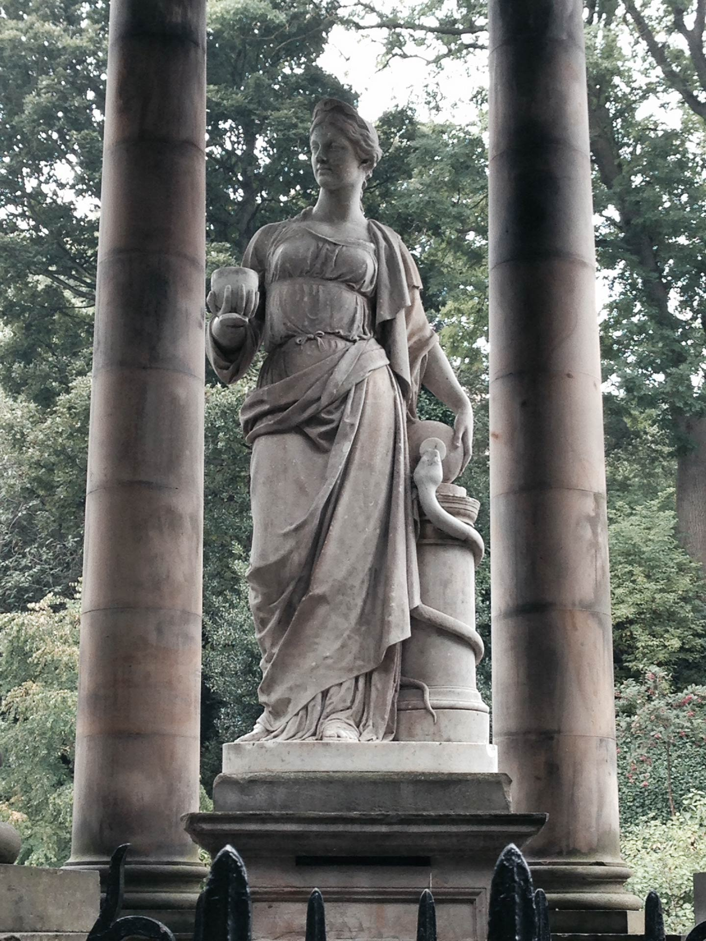 St. Bernardin lähteellä Edinburghissa. Kuva: Eeva Simola / Tripsteri