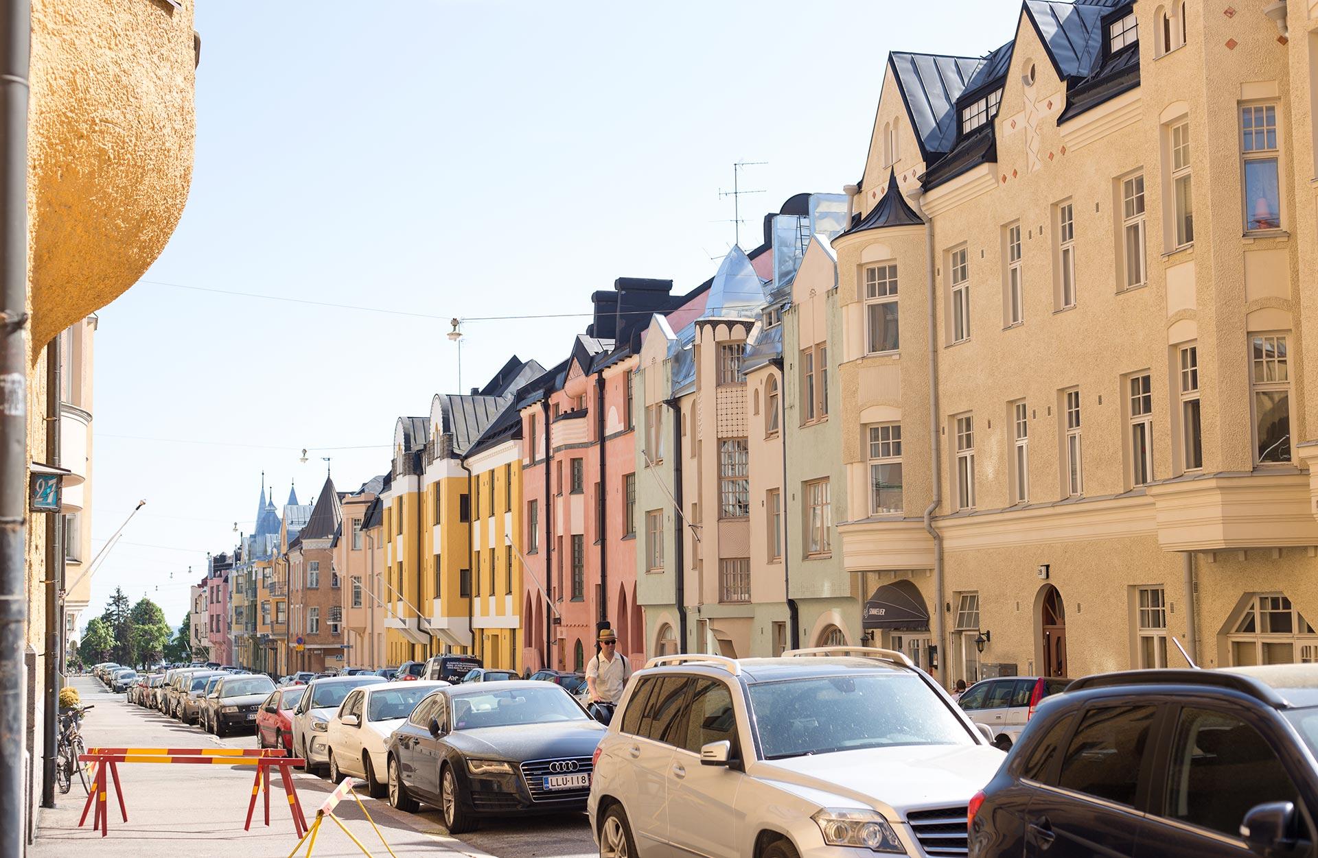 Huvilakatu on monen mielestä Helsingin kaunein katu © Tuulia Kolehmainen / tripsteri.fi