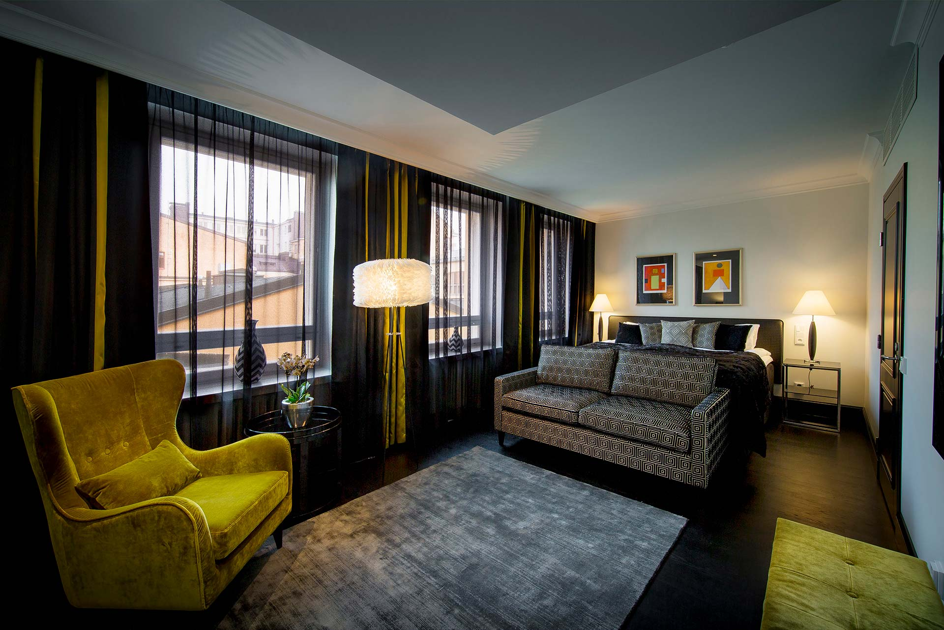 Hotel Lilla Roberts Guestroom Style