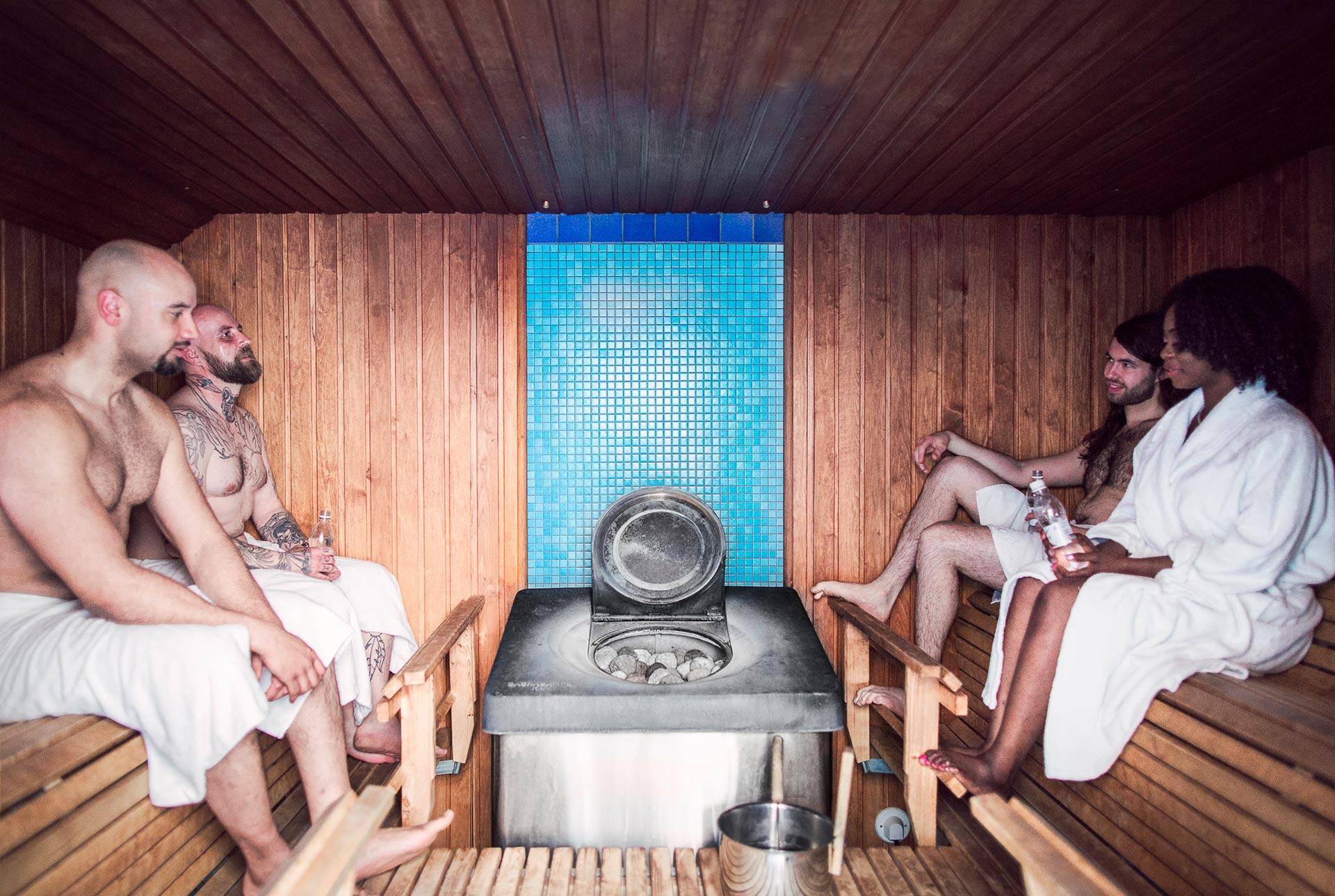 Sauna Hotel Helka