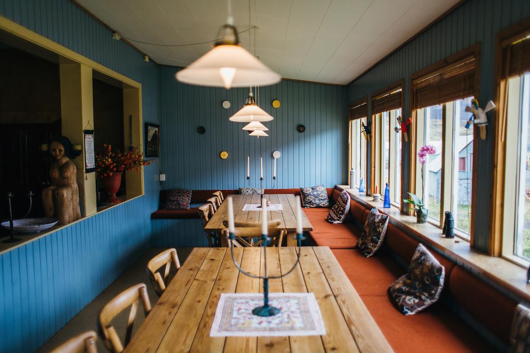 Hafaldanin hostelli Islannin itävuonoilla. Kuva: Hafaldan.