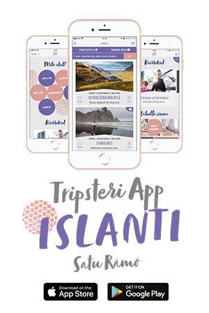 Tripsteri App Islanti -sovellus