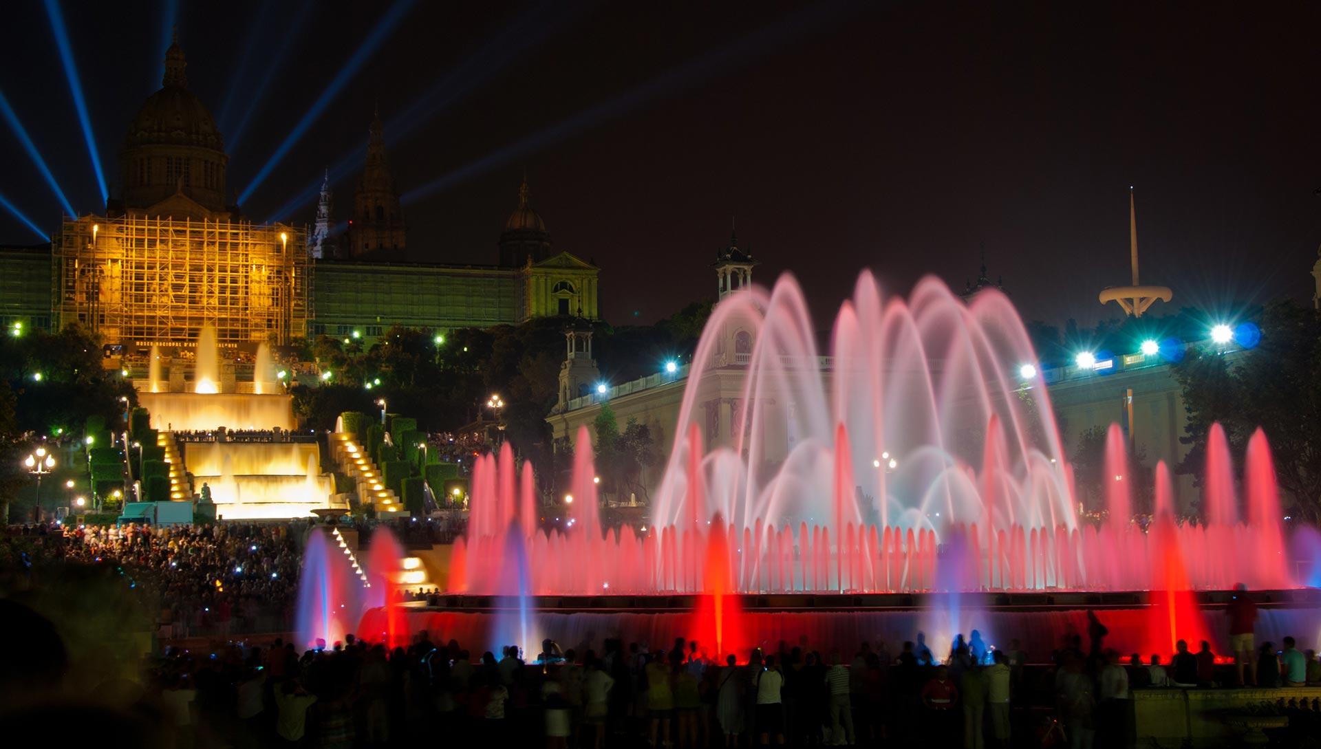 Montjuïcin taikalahde Magic Fountain