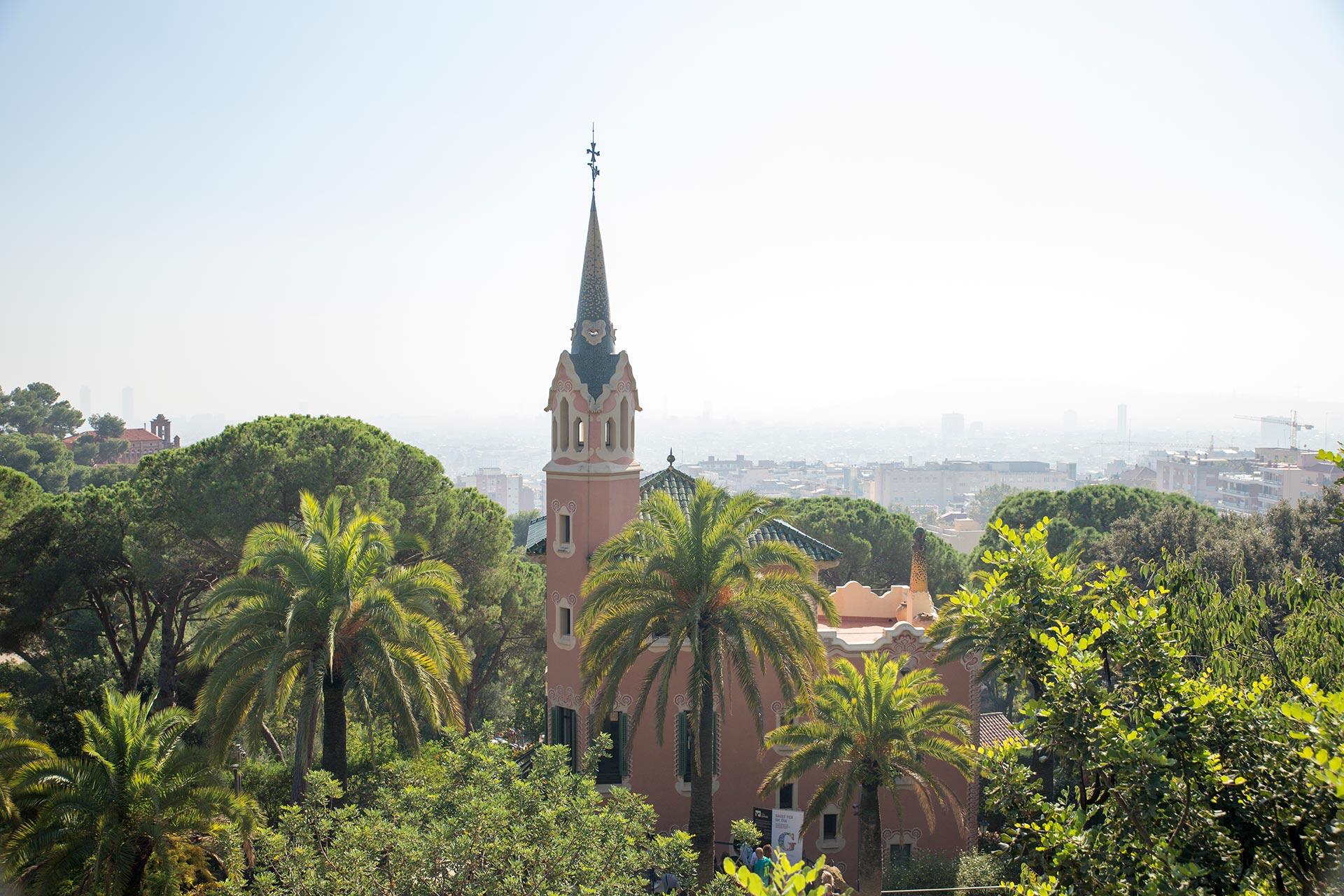 Gaudín kotimuseo Park Güellissa © Tuulia Kolehmainen