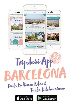 Tripsteri App Barcelona banneri