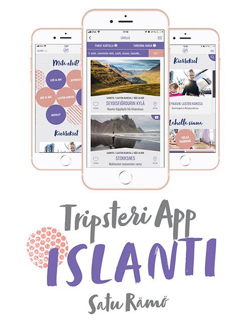 Tripsteri App Islanti -banneri
