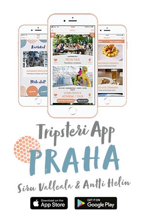 Tripsteri App Praha banneri