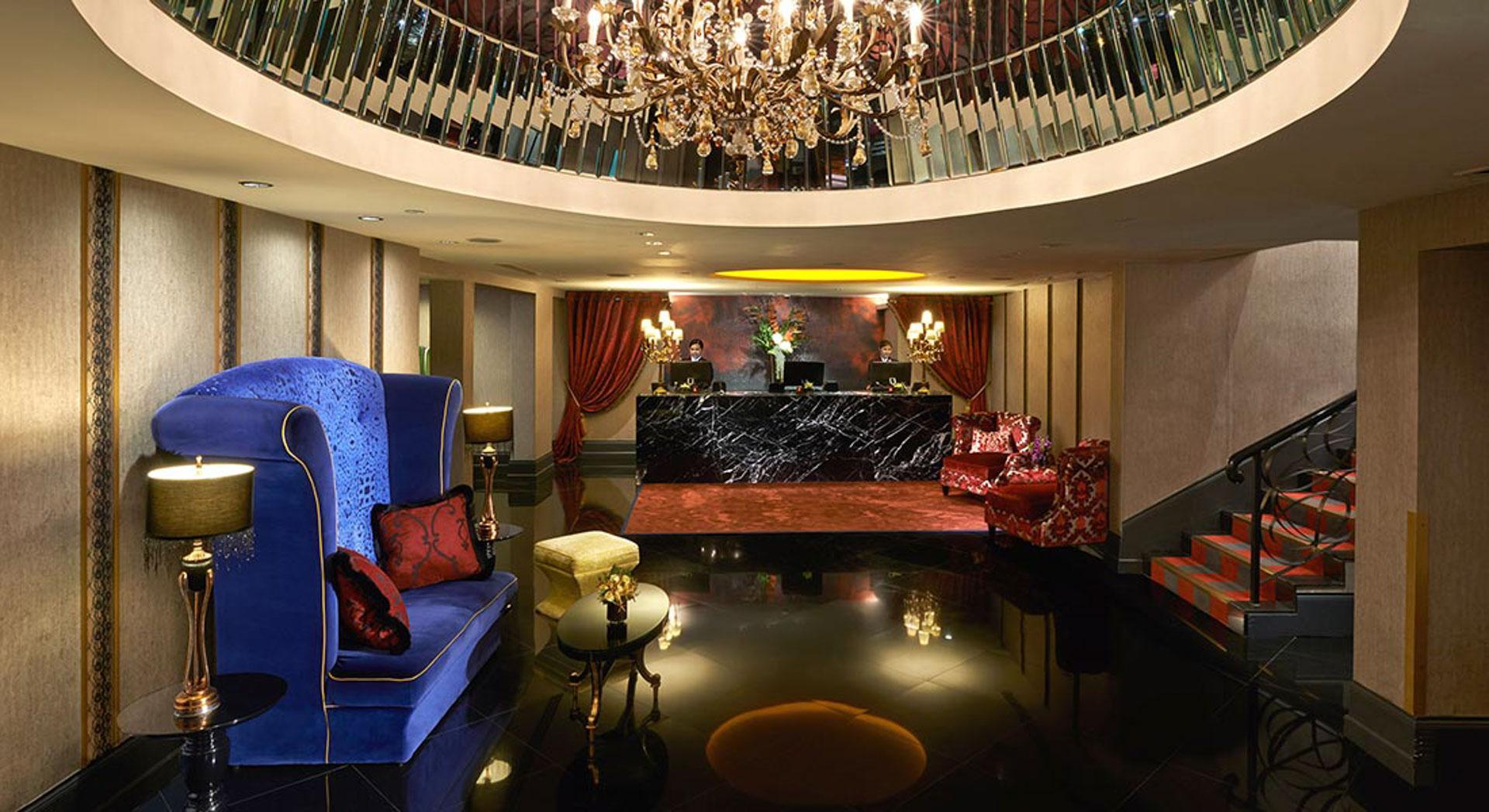 The Scarlet Singaporen aula. Kuva: The Scarlet Singapore