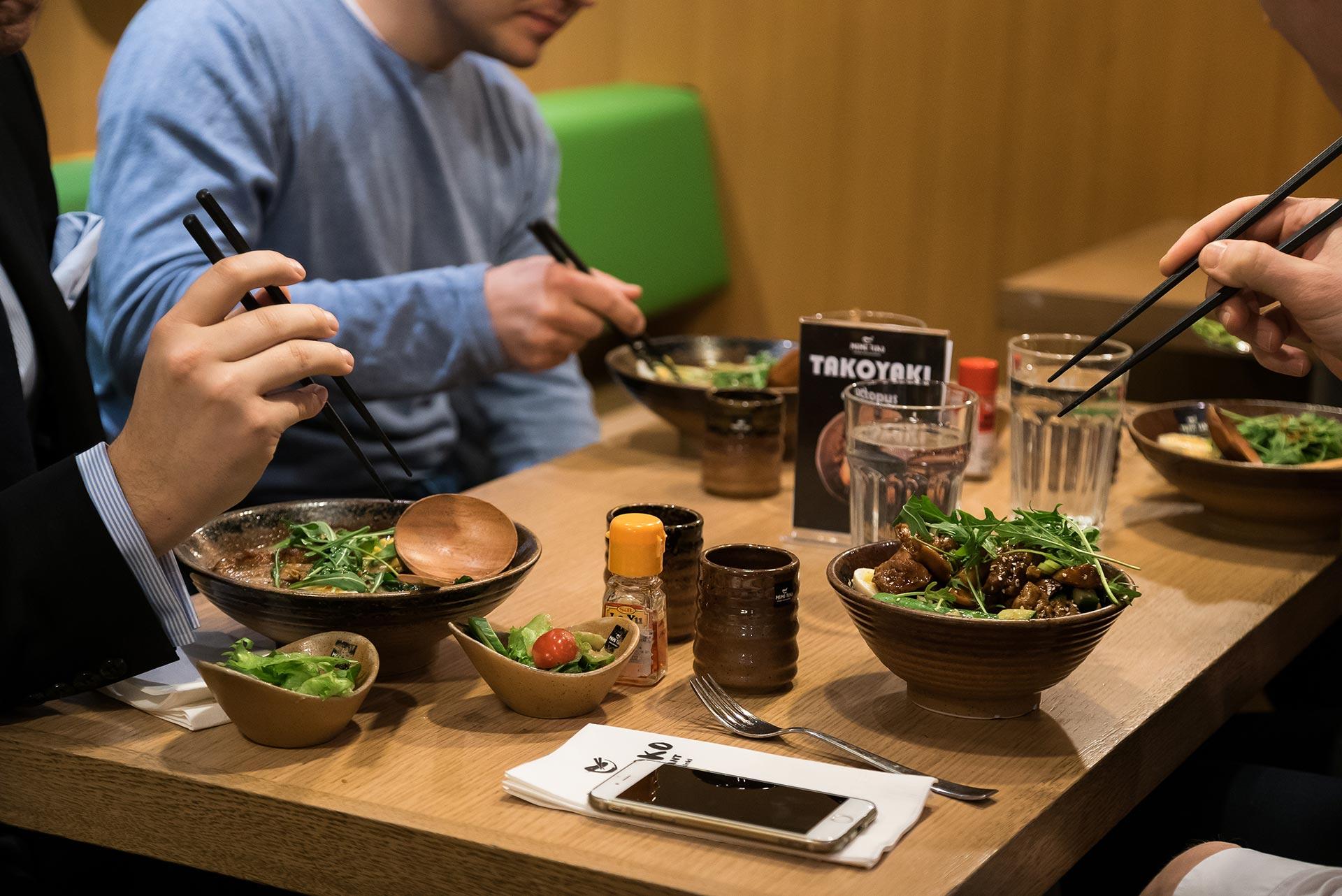 Momotoko -ravintola Helsingissä