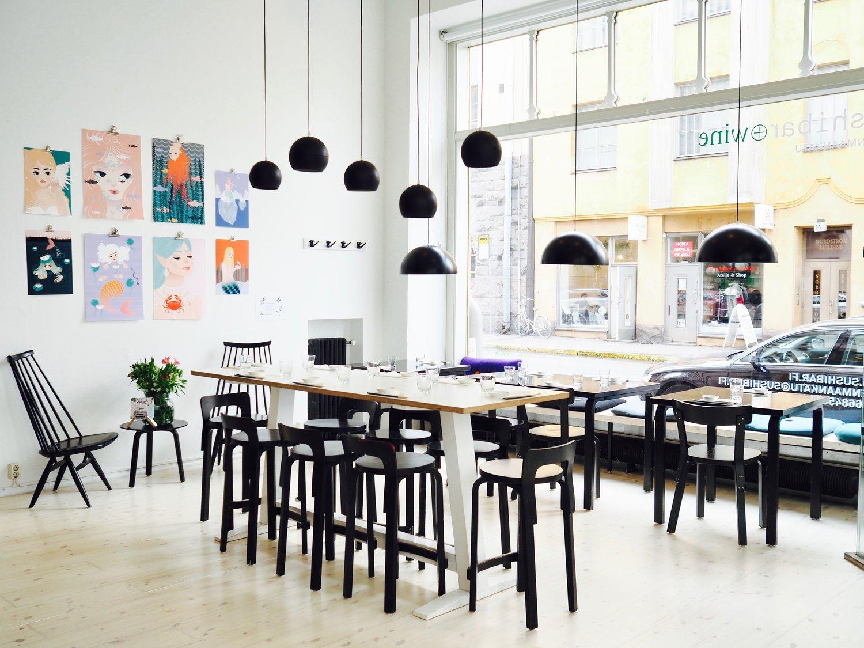 Sushibar & Wine -ravintola Helsingissä
