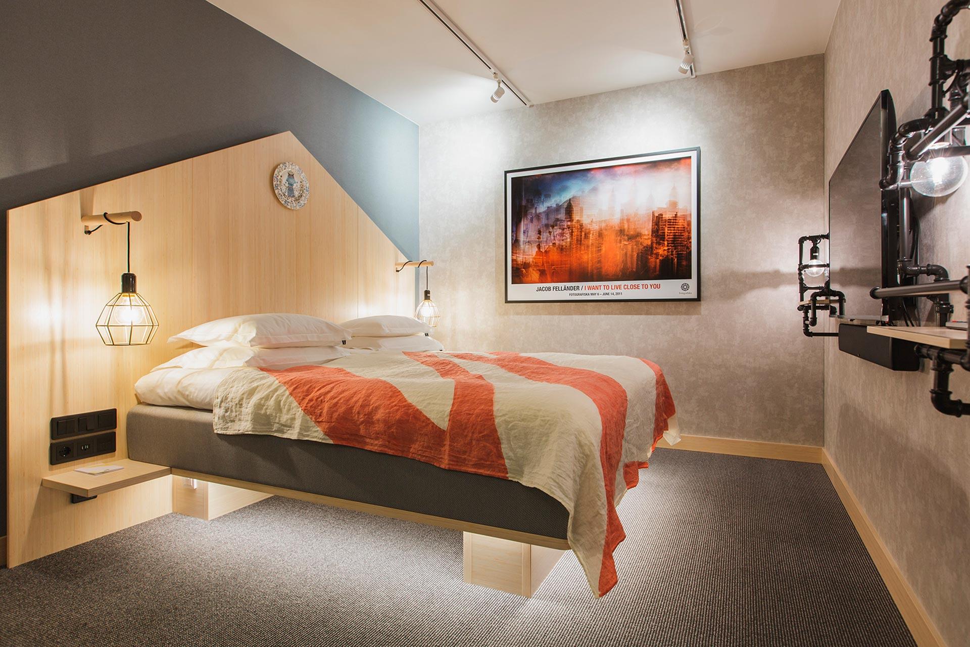 Hotelli With Urban Delin kodikkaat huoneet ovat maan alla. Kuva: Hotel With Urban Deli