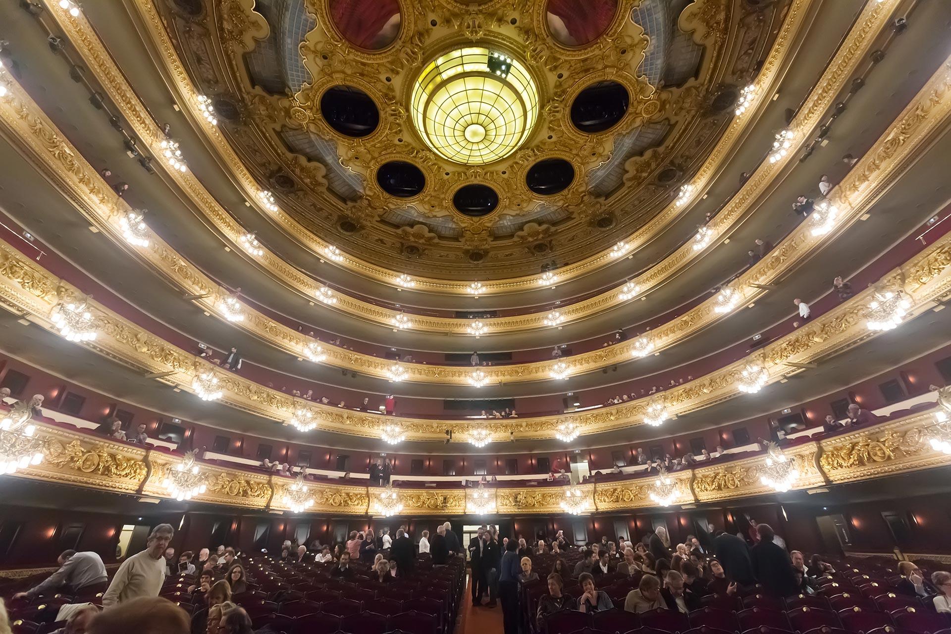 Liceu ooppera Barcelona