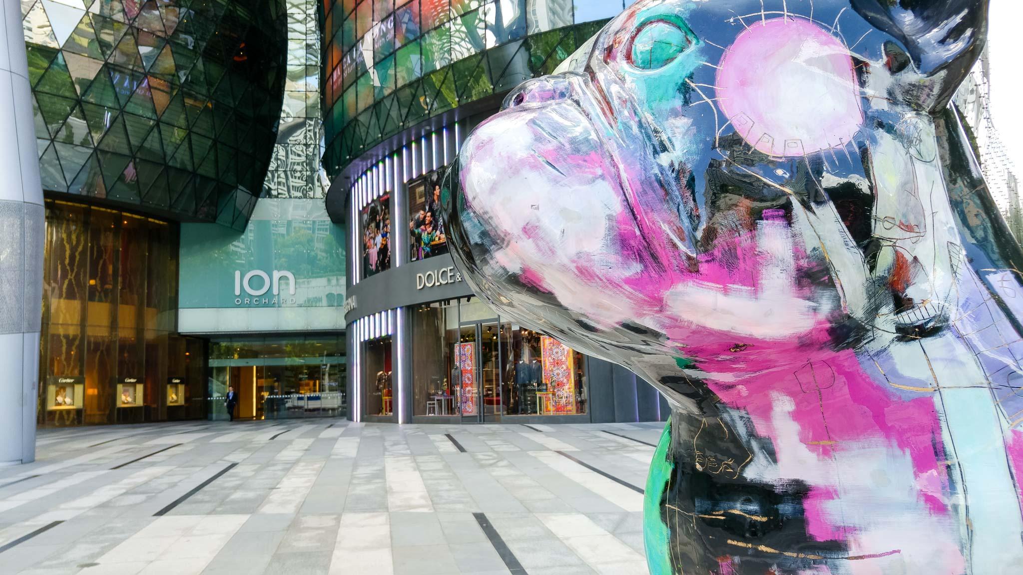 ION on yksi Orchardin suurimmista ostoskeskuksista. Kuva: Joel Sjöberg