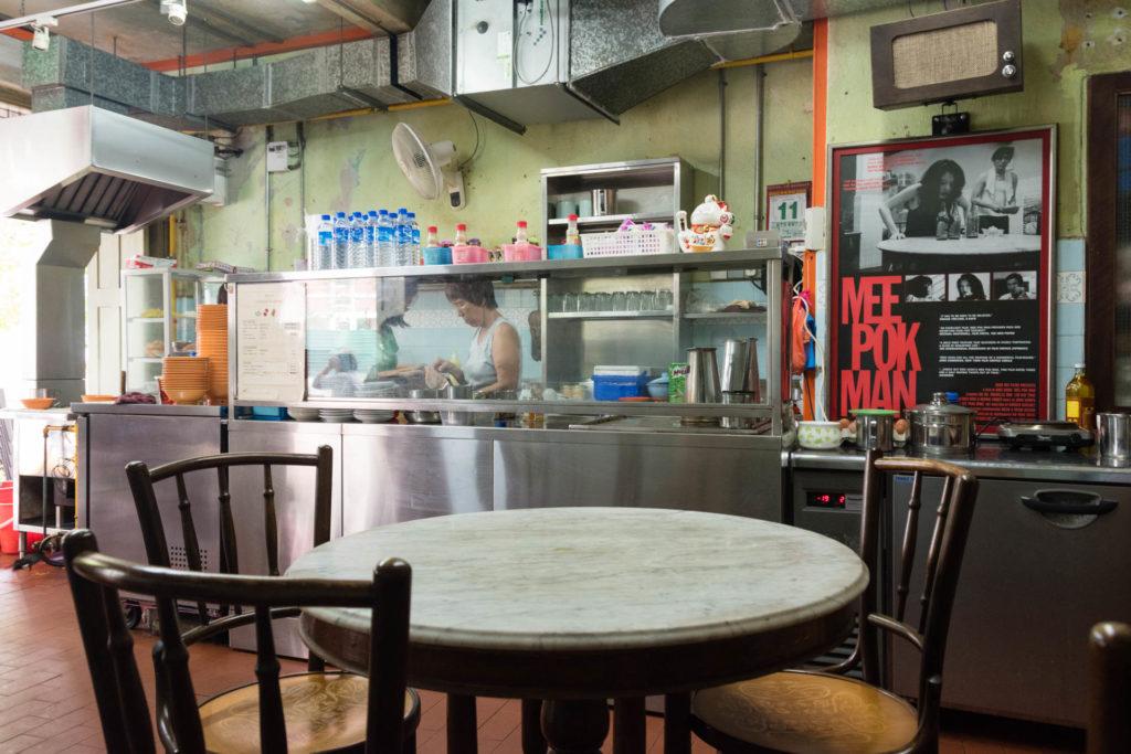 Bincho oli keskeisessä osassa Singaporelaisessa elokuvassa Mee Pok Man. Kuva: Soile Vauhkonen