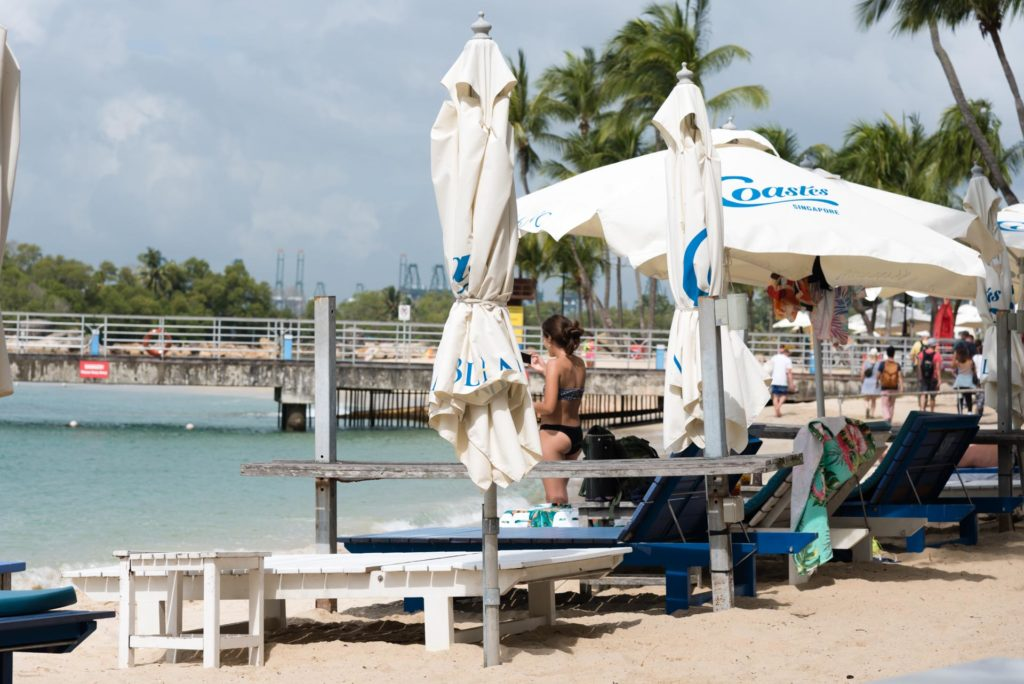 Coastes Siloso Beachilla on perheystävällinen rantabaari. Kuva: Soile Vauhkonen