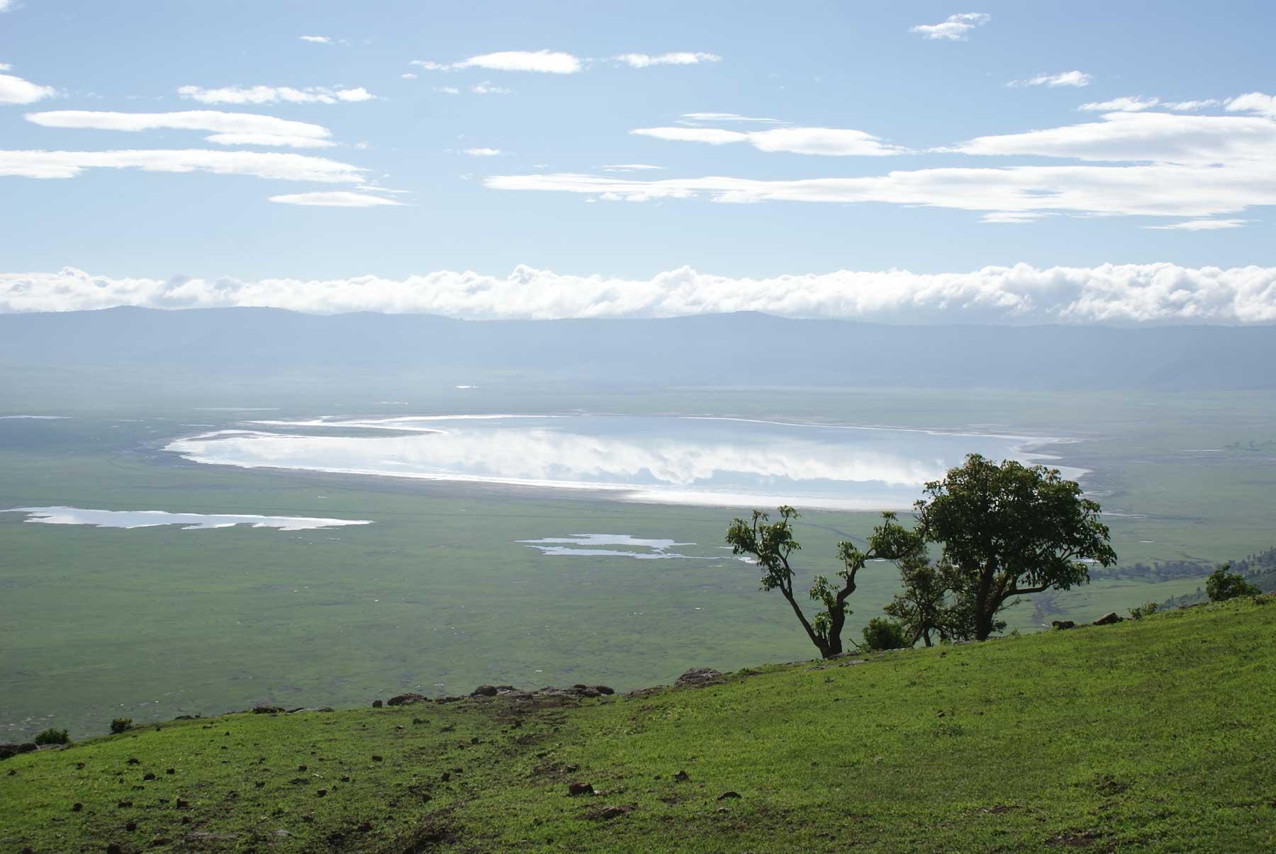 Ngorongoron kraaterijärvi