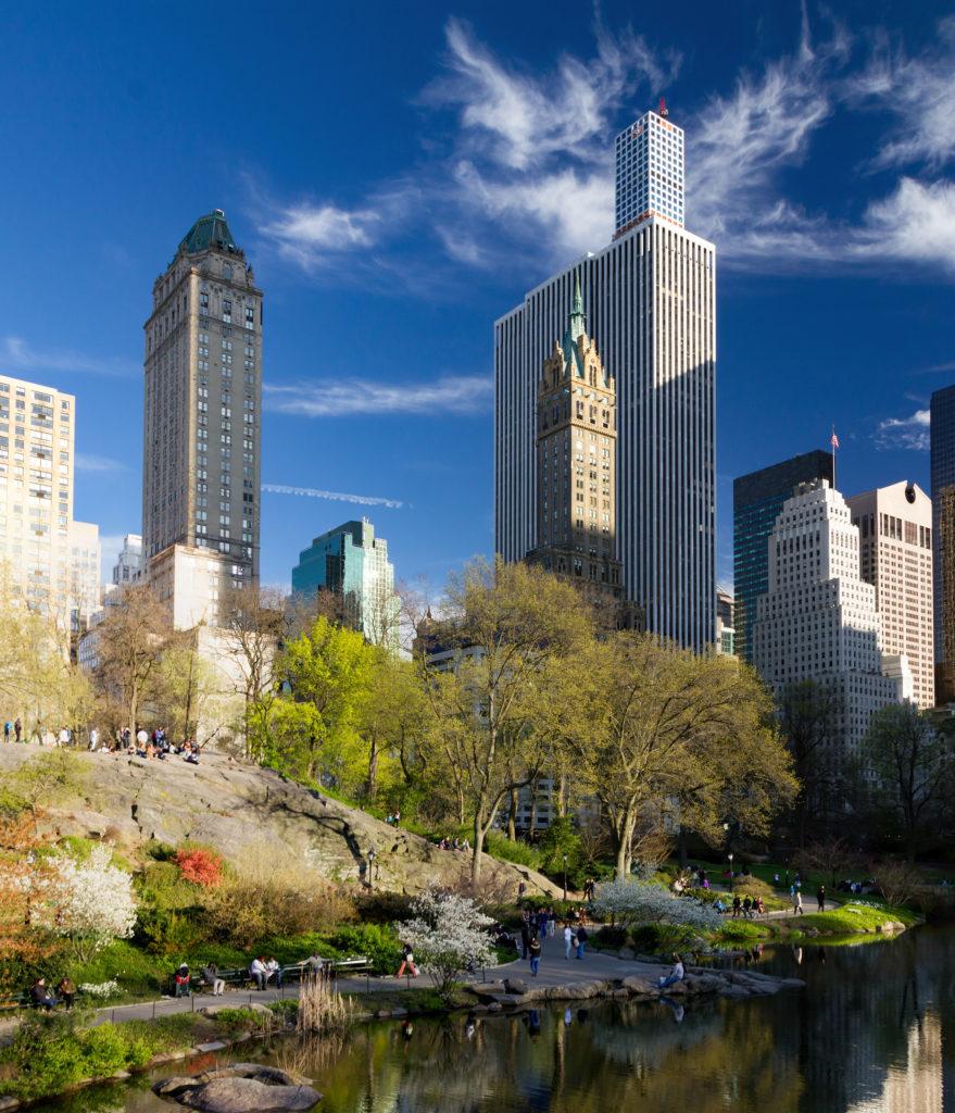 Lukuisten elokuvien ja televisiosarjojen, tapahtuma- ja kuvauspaikkana käytetty Central Park on yksi maailman kuuluisimmista puistoista.