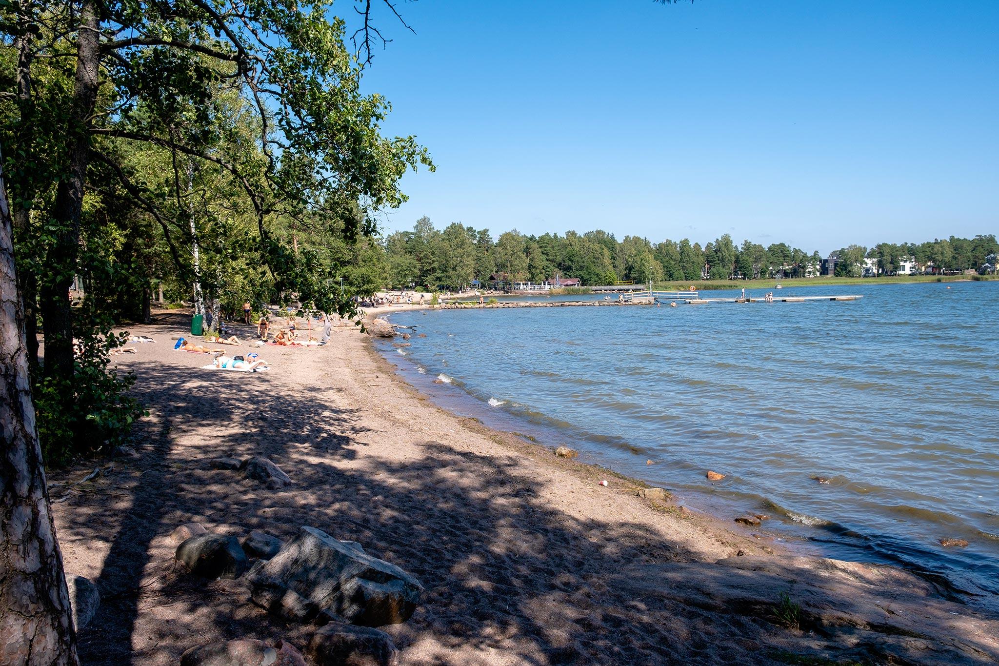 Matinkylän ranta © Tuulia Kolehmainen