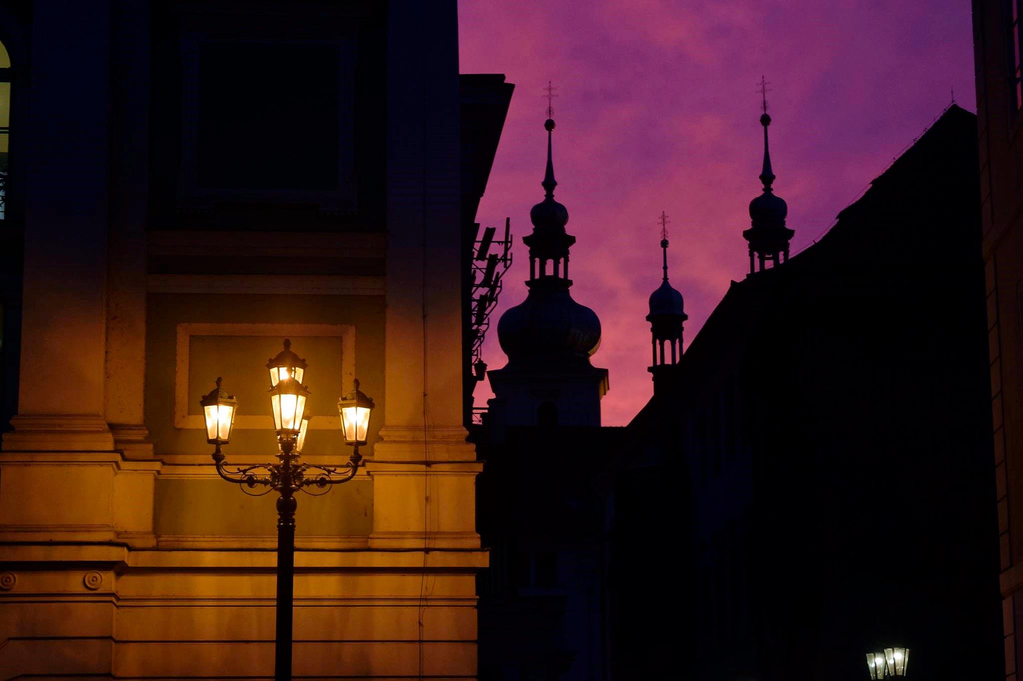 Kerrankin Prahan kuuluisilla kujilla ei ole tungosta. Kuva © Aino Heikkilä.