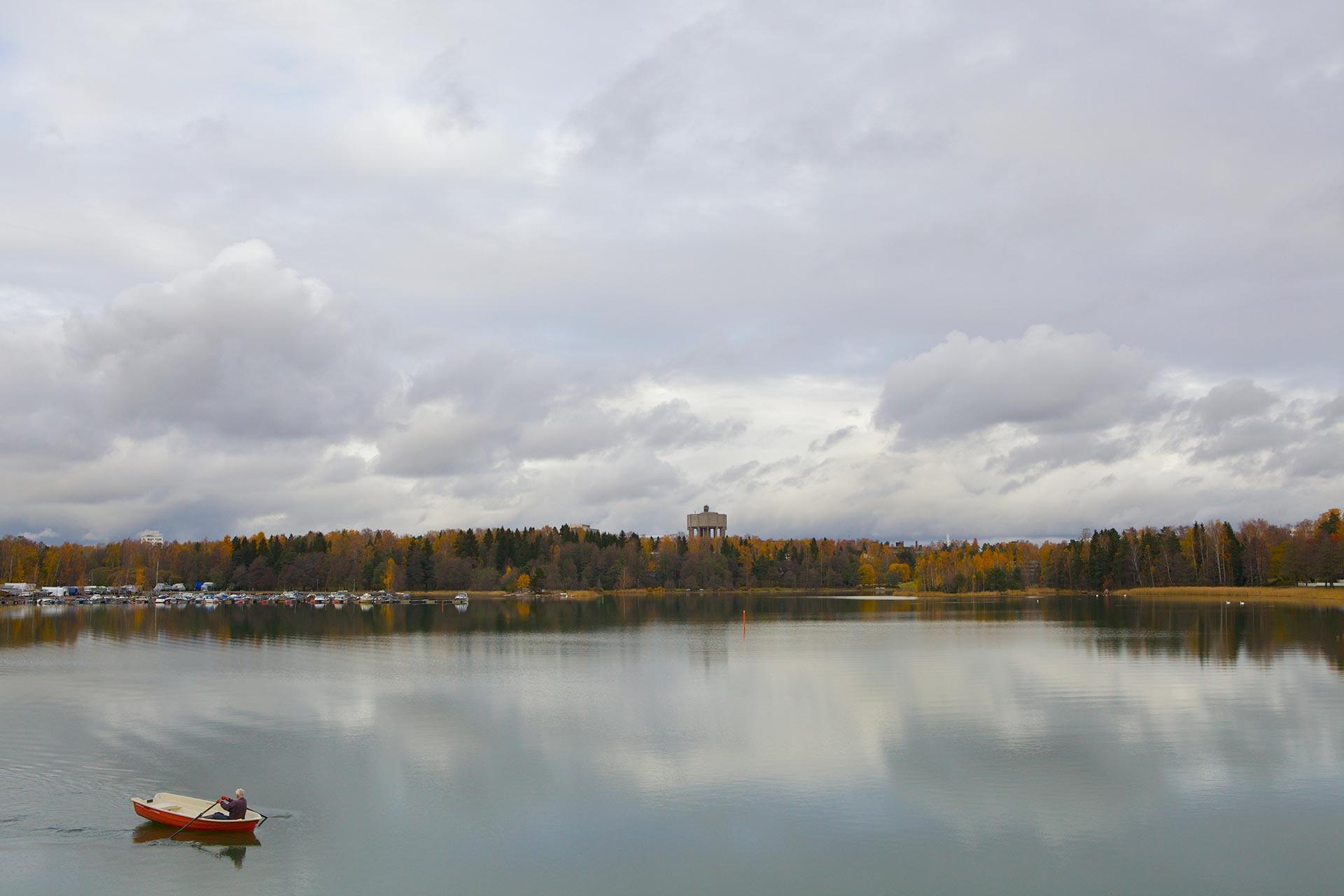 Otsolahden venesatama © Visit Espoo