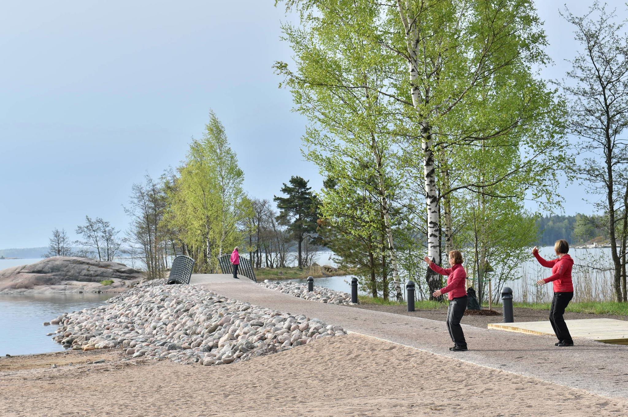 Westendin ranta © Visit Espoo