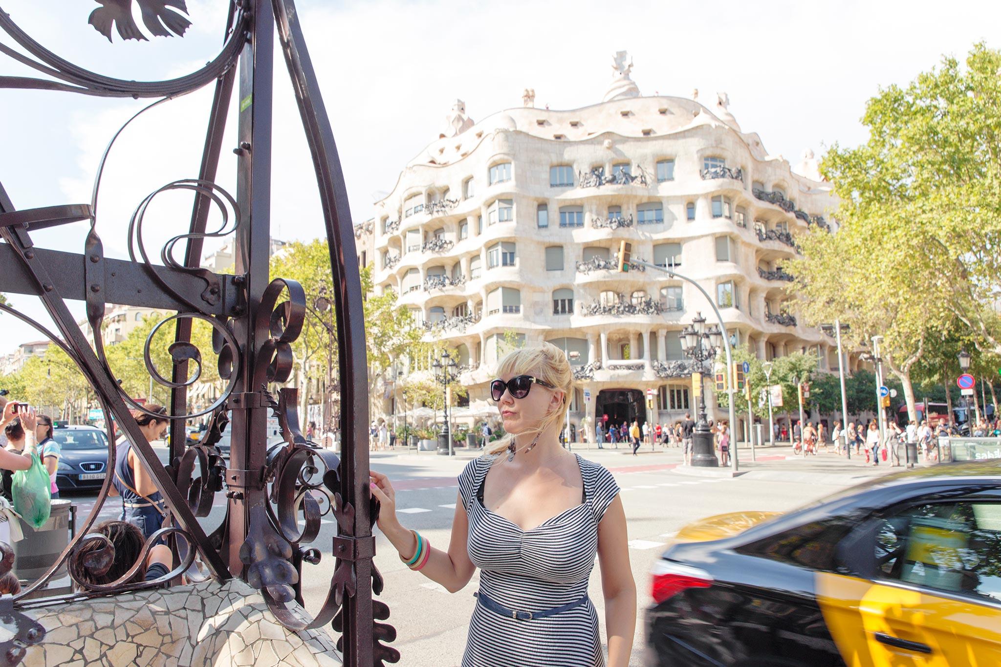 La Pedrera, Barcelona © Tuulia Kolehmainen