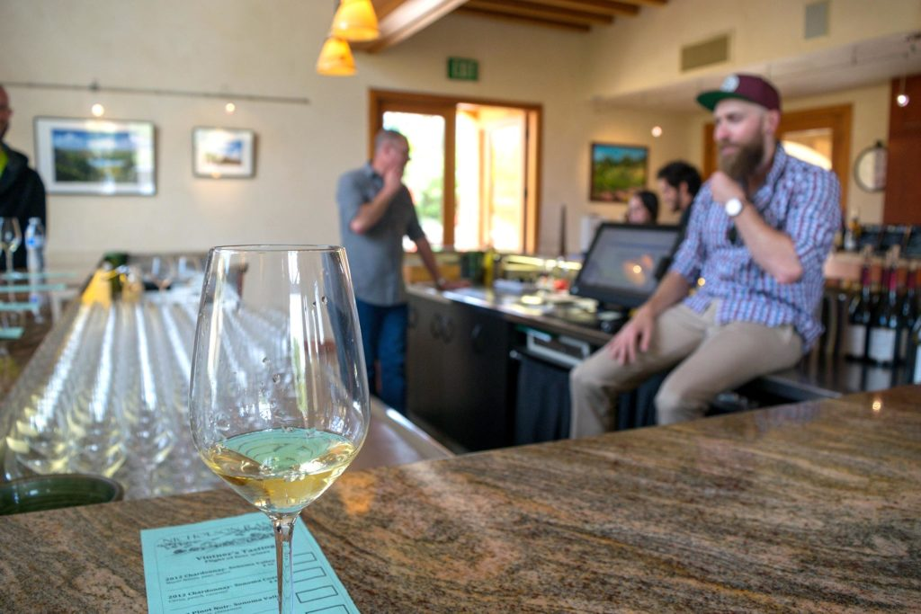 Nicholson Ranchin viininmaistelu.