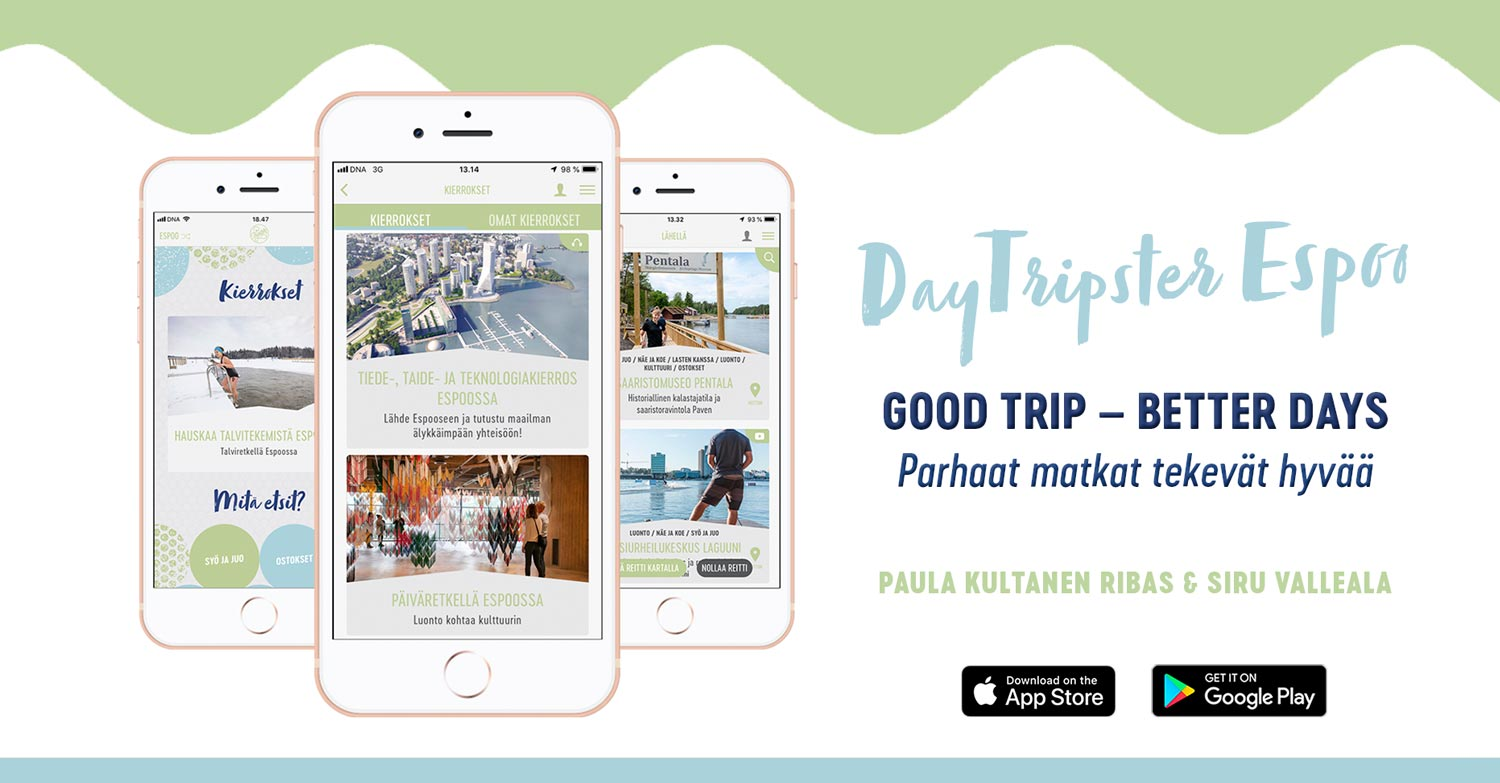 DayTripster-Espoo travel app