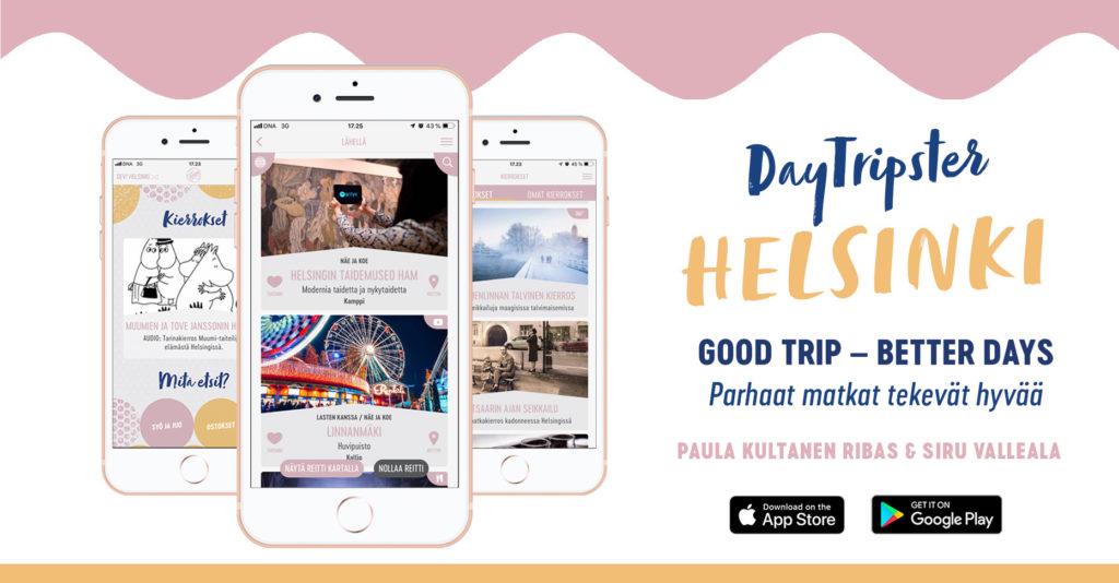 DayTripster-Helsinki appi