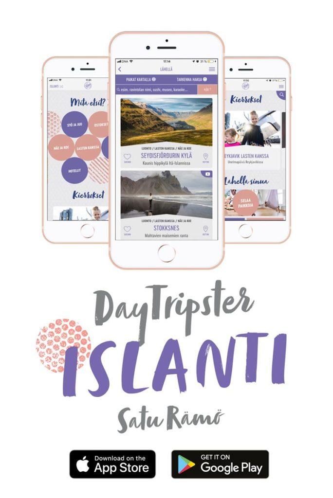 DayTripster-Islanti App