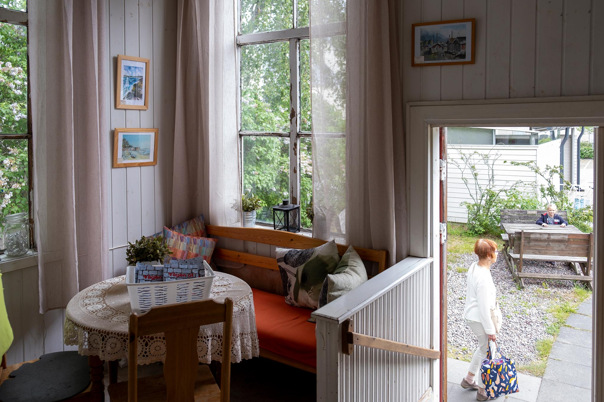 Alan's Cafe, Hanko © Tuulia Kolehmainen