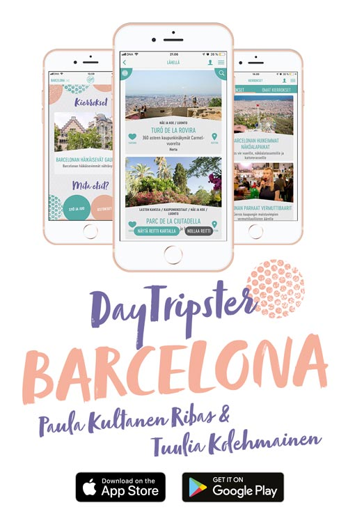 DayTripster Barcelona App