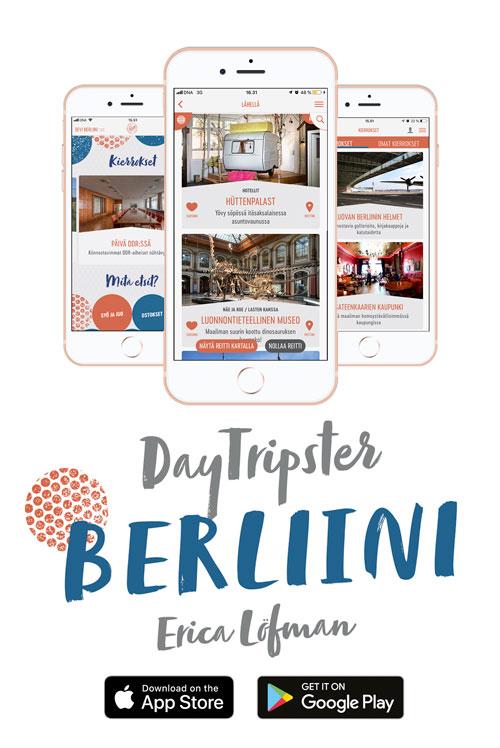 DayTripster App Berliini -banneri