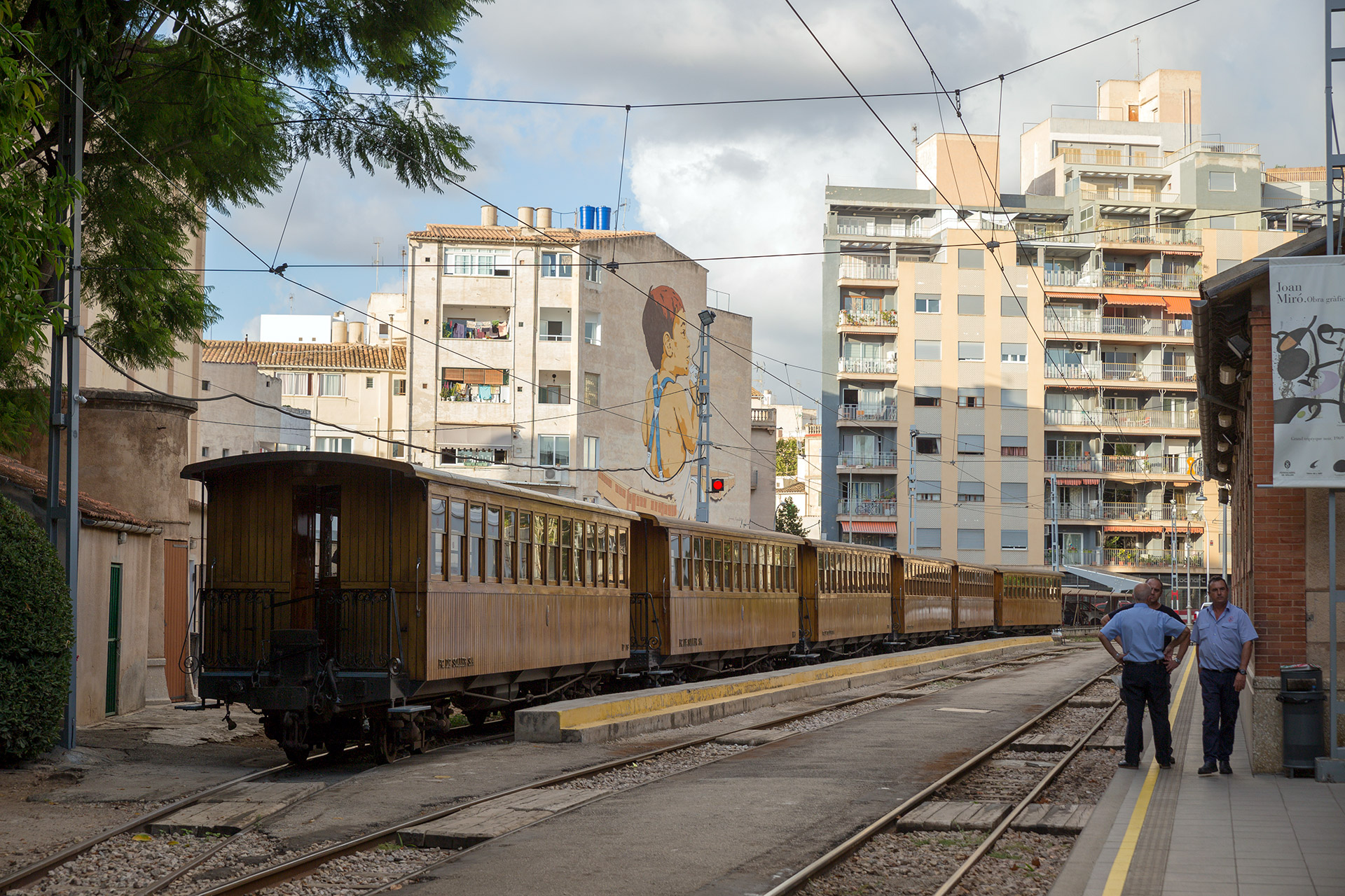 Tren de Sóller, Palma de Mallorca © Tuulia Kolehmainen