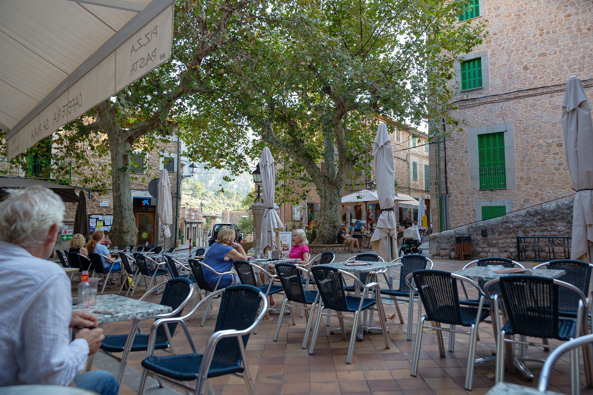 Plaça d'Espanya, Fornalutx © Tuulia Kolehmainen
