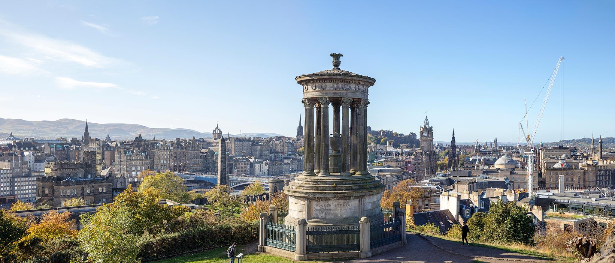 Calton Hill, Edinburgh © Tuulia Kolehmainen