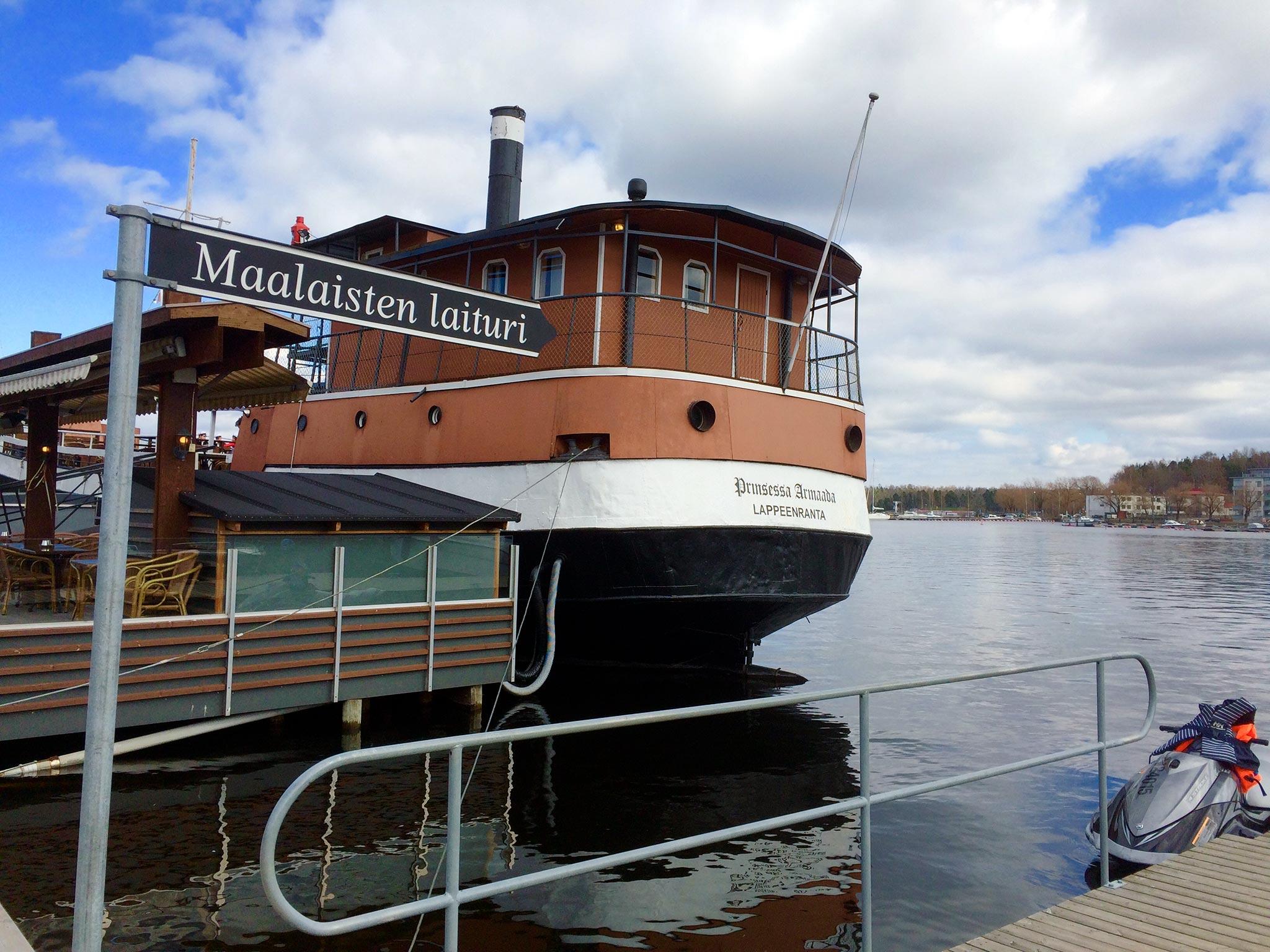 Kuva: Laivaravintola Prinsessa Armaada, Lappeenranta