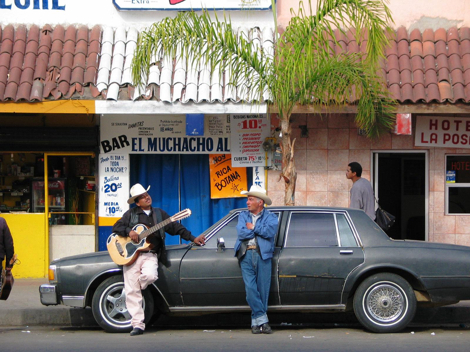 Meksikon miehiä. Kuva: Miika Mattila