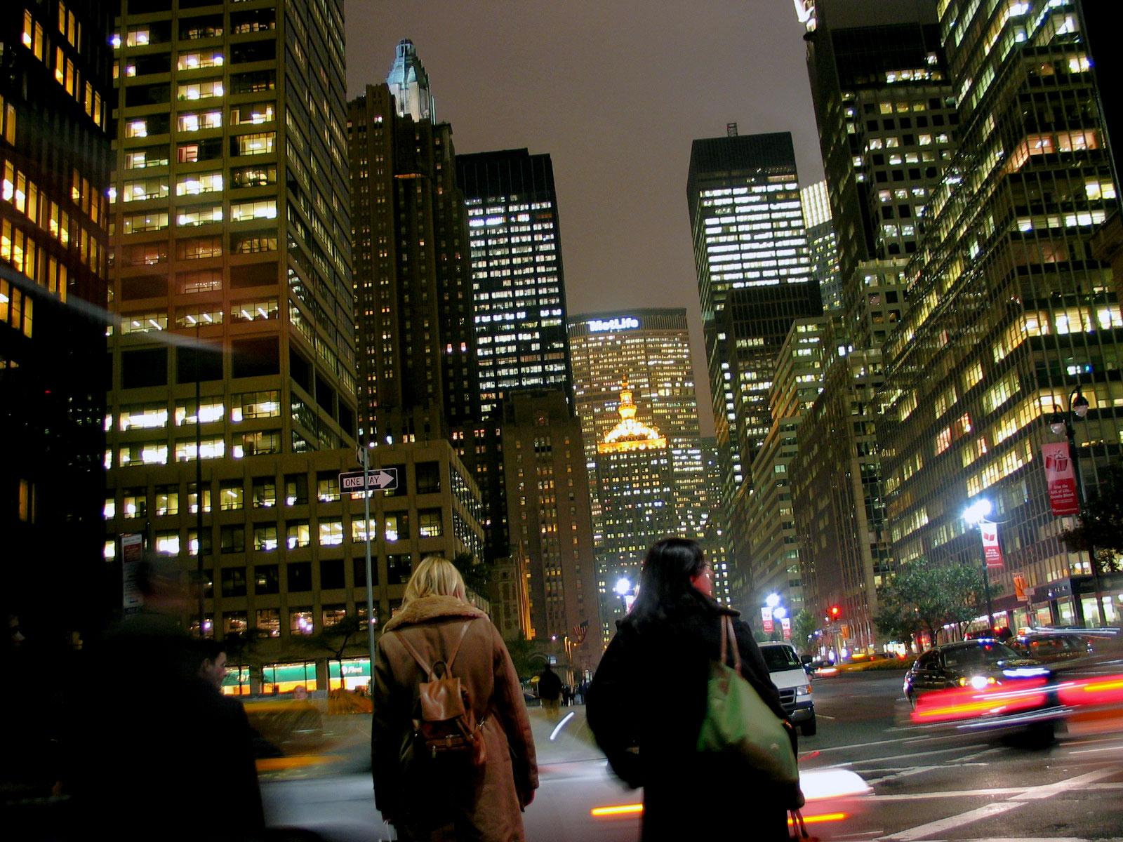 Manhattan by night. Kuva: Miika Mattila