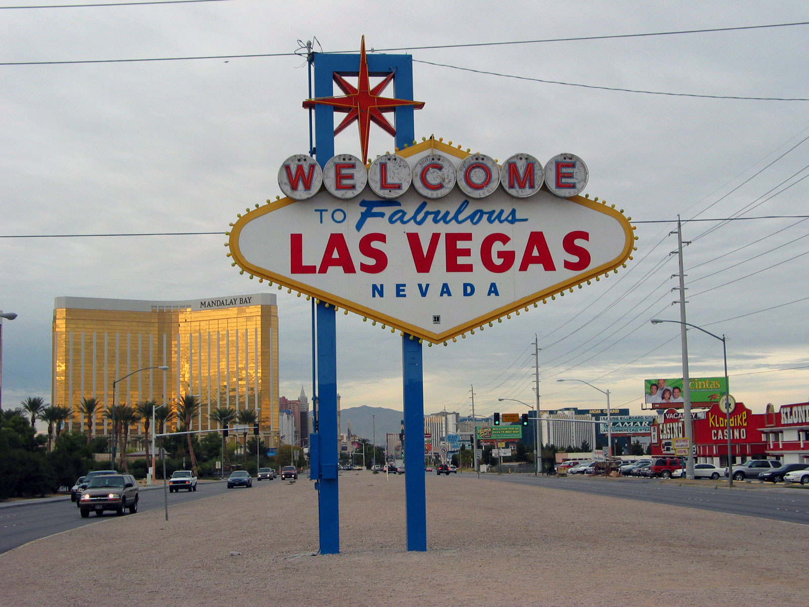 Legendakyltti, Las Vegas. Kuva: Miika Mattila