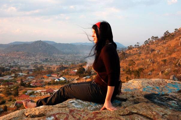 Kangilonga-kallion päällä kävin usein ihastelemassa Iringan maisemia.