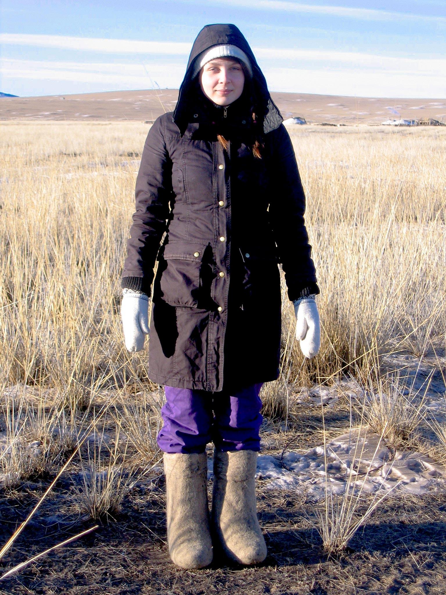 Aino Tanhua, Tripsteri, Mongolia