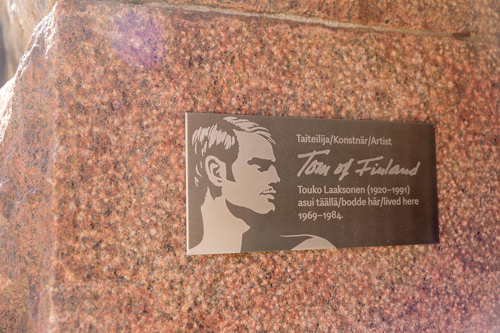 Tom of Finlandin kotitalo Ullanlinnassa © Tuulia Kolehmainen