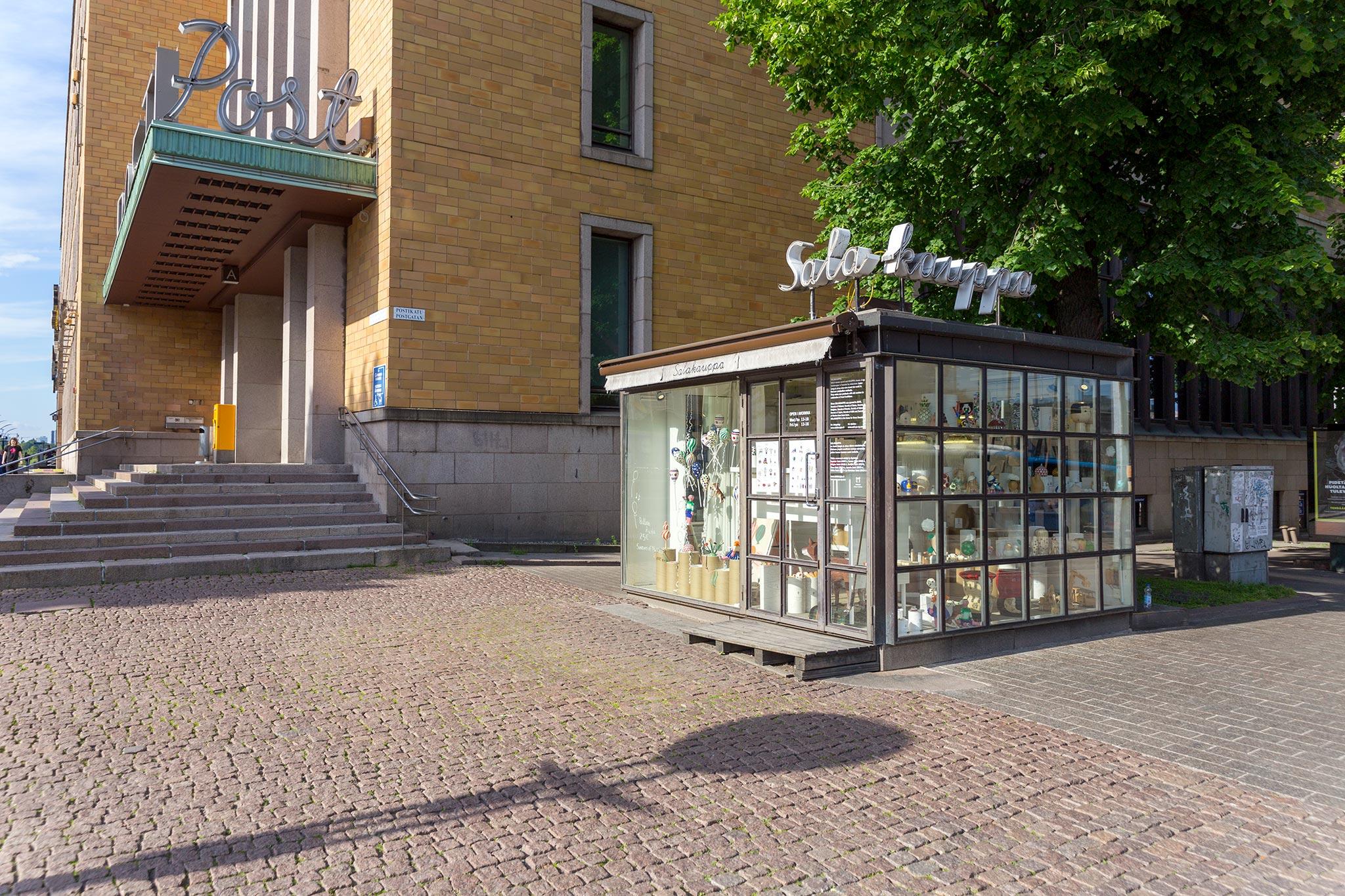 Salakauppa © Tuulia Kolehmainen