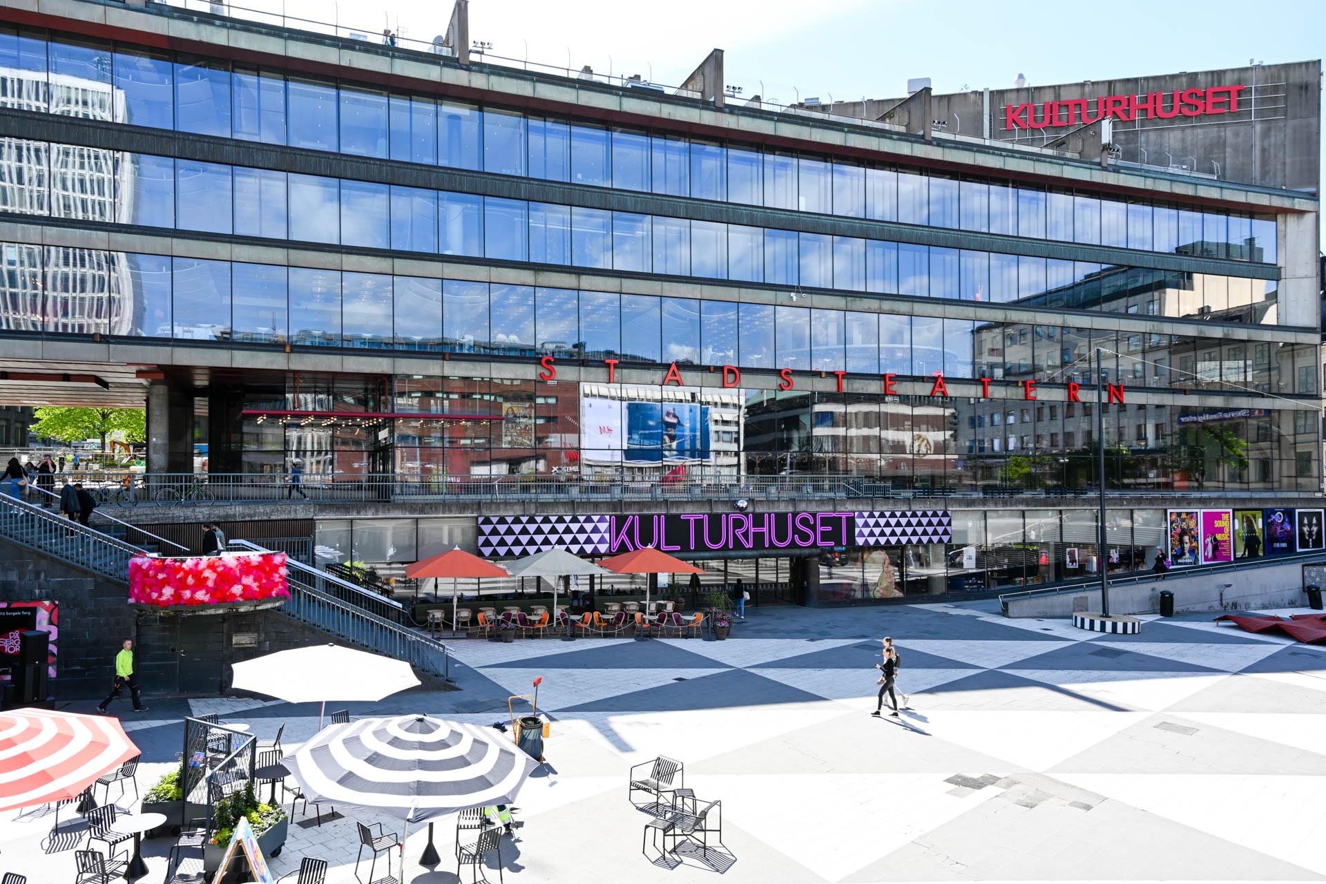 Sergels torg Tukholman keskustassa. Kuva: Soile Vauhkonen