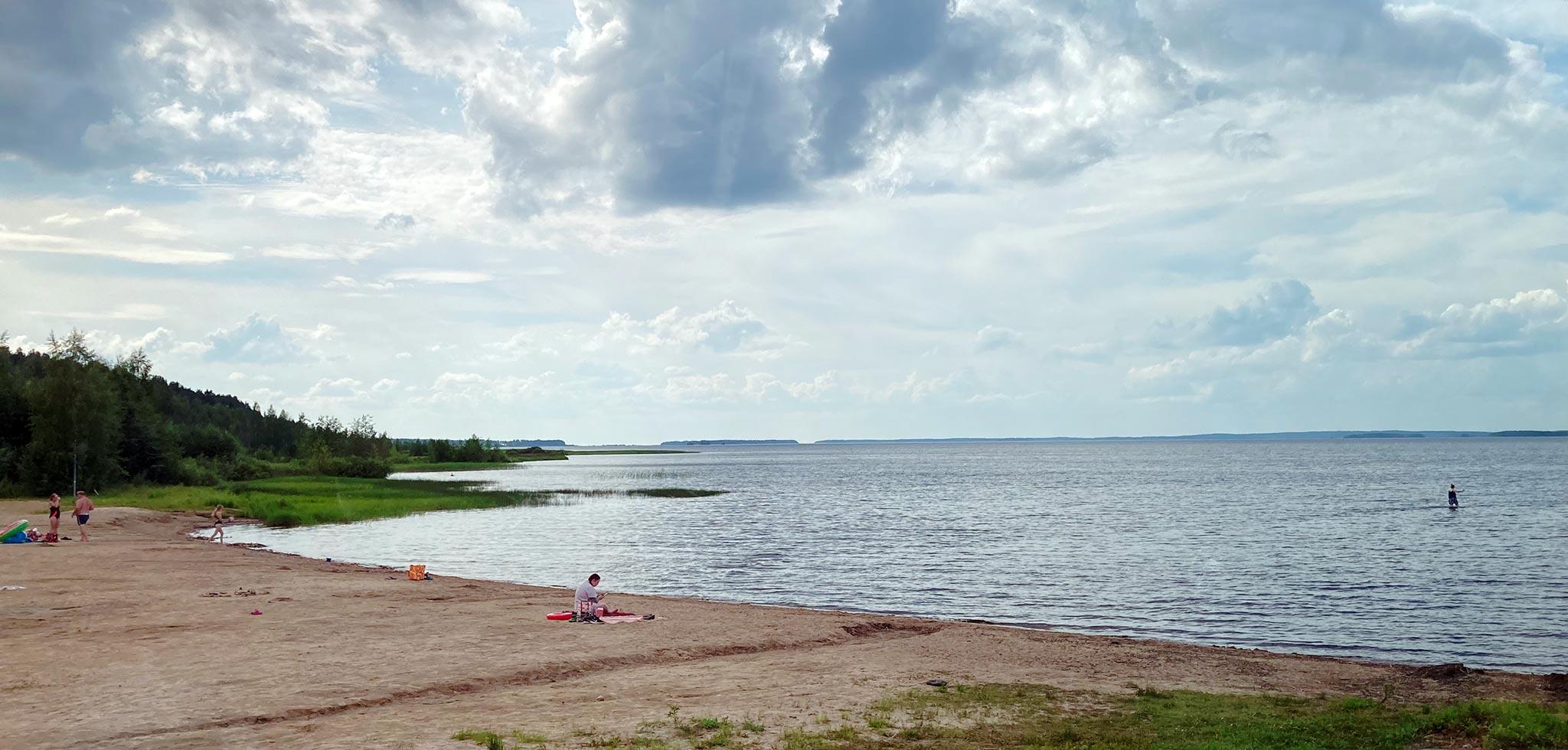 Oulujärvi, Kajaani © Eeva Simola